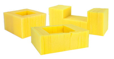 black-yellow-block-foam